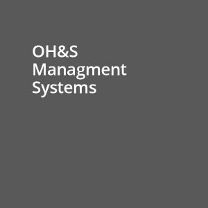OH&S management systems